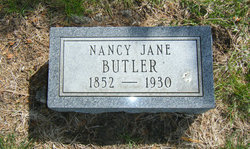 Nancy Jane <i>Speer</i> Butler