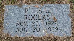 Bula L Rogers