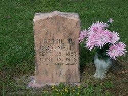 Bessie <i>B.</i> Gosnell