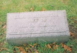 Ella R. <i>Middleton</i> Hunt