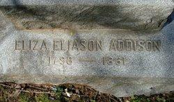 Eliza <i>Eliason</i> Addison