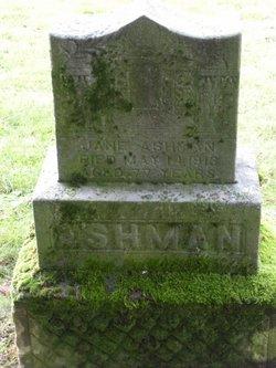 Jane Ashman