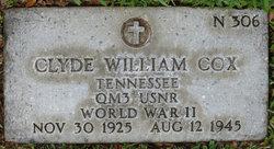 QM3 Clyde William Cox