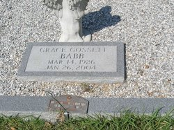 Grace <i>Gossett</i> Babb