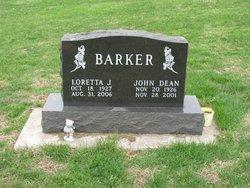 Loretta Jane <i>Fisher</i> Barker