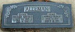 Hannah Dorthea <i>Hansen</i> Alleman