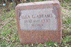 Ella L. <i>George</i> Abrams