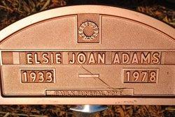 Elsie Joan <i>Dement</i> Adams