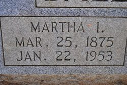 Martha I Ballenger