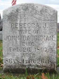 Rebecca Jane <i>Garlick</i> Baughman
