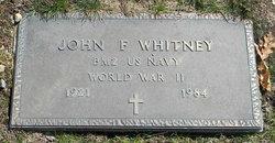 BM2 John F Whitney