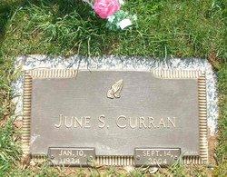 June Helen <i>Schwalm</i> Curran