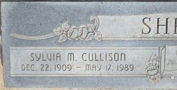 Sylvia Martha <i>Cullison</i> Shriner