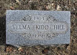 Velma <i>Dine</i> Kidd Hill