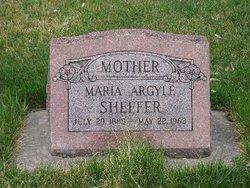 Maria Argyle Mariah <i>Warner</i> Sheffer