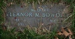 Eleanor M. Bowdler