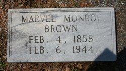 Marvel Monroe Brown