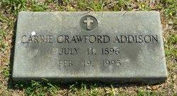 Carrie <i>Crawford</i> Addison
