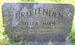 Stella Marie <i>Kelley</i> Crittenden