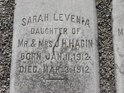 Sarah Levenia Hagin