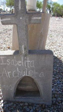 Isabelita Archuleta