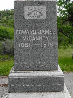 Edward L or J Ned McGanney