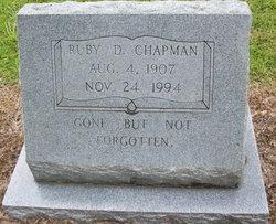 Ruby D <i>Rogers</i> Chapman