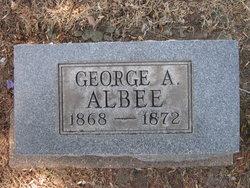 George Albert Albee