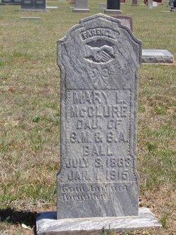 Mary Llizabeth Mollie <i>Ball</i> McClure