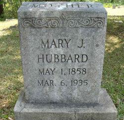 Mary Jane <i>Lane</i> Hubbard