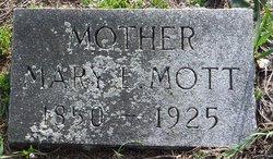 Mary E. <i>Falkinburg</i> Mott