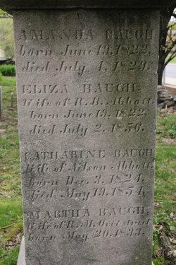 Eliza <i>Baugh</i> Abbott