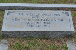 Julia Mae <i>Livingston</i> Caughman