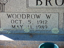 Woodrow Wilson Brown