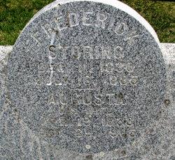 Frederick Storing