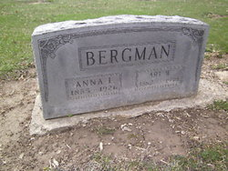 Anna L. <i>Bailey</i> Bergman