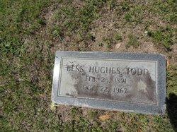Bessie Bell Bess <i>Hughes</i> Todd