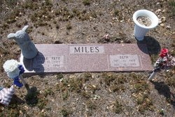 Mamie Elizabeth Beth <i>Howell</i> Miles