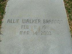 Allie <i>Walker</i> Brannon