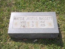 Sarah Hattie <i>Justus</i> Bassett