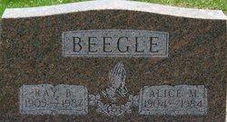 Alice M <i>Imhoff</i> Beegle