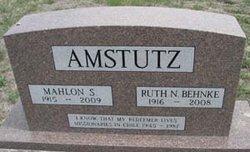 Ruth <i>Behnke</i> Amstutz