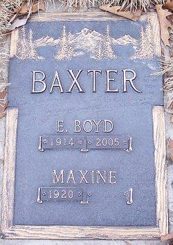 E Boyd Baxter