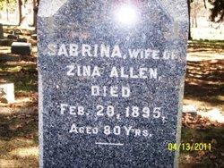 Sabrina <i>Lewis</i> Allen