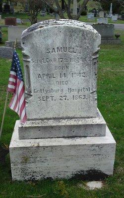 Sgt Samuel Comstock