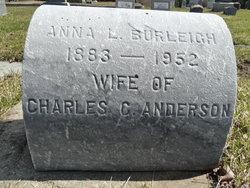 Anna Louise <i>Burleigh</i> Anderson