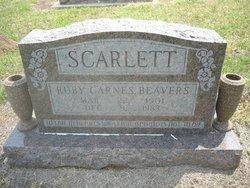 Ruby <i>Carnes</i> Beavers Scarlett