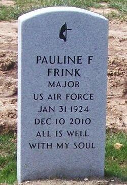 Maj Pauline Frances Polly Frink