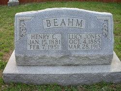 Lucy <i>Jones</i> Beahm