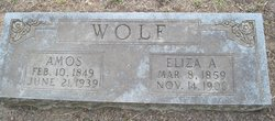Eliza A Wolf